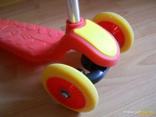 Детский 3-колесный самокат EcoBalance фото