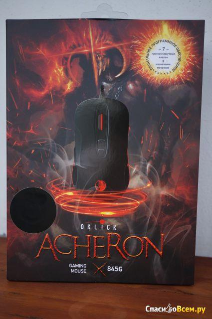 Мышь проводная Oklick 845G Acheron фото