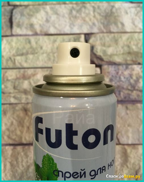 Спрей для ног Futon с освежающим эффектом мяты фото