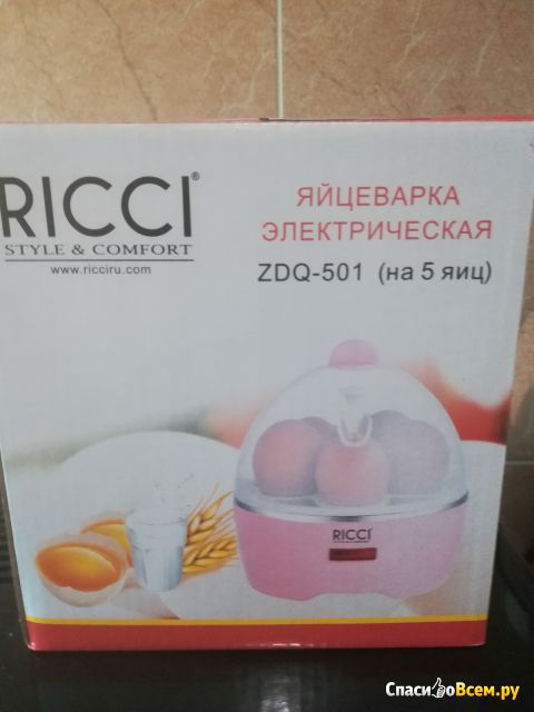 Яйцеварка электрическая Ricci Style  Comfort ZDQ-501 фото