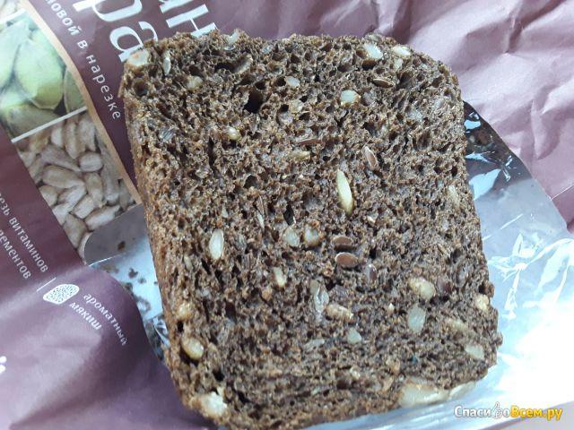 """Хлеб  """"Ржаной край"""" зерновой в нарезке Коломенское фото"""