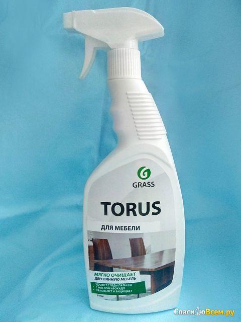 """Очиститель-полироль для мебели """"Torus"""" Grass фото"""