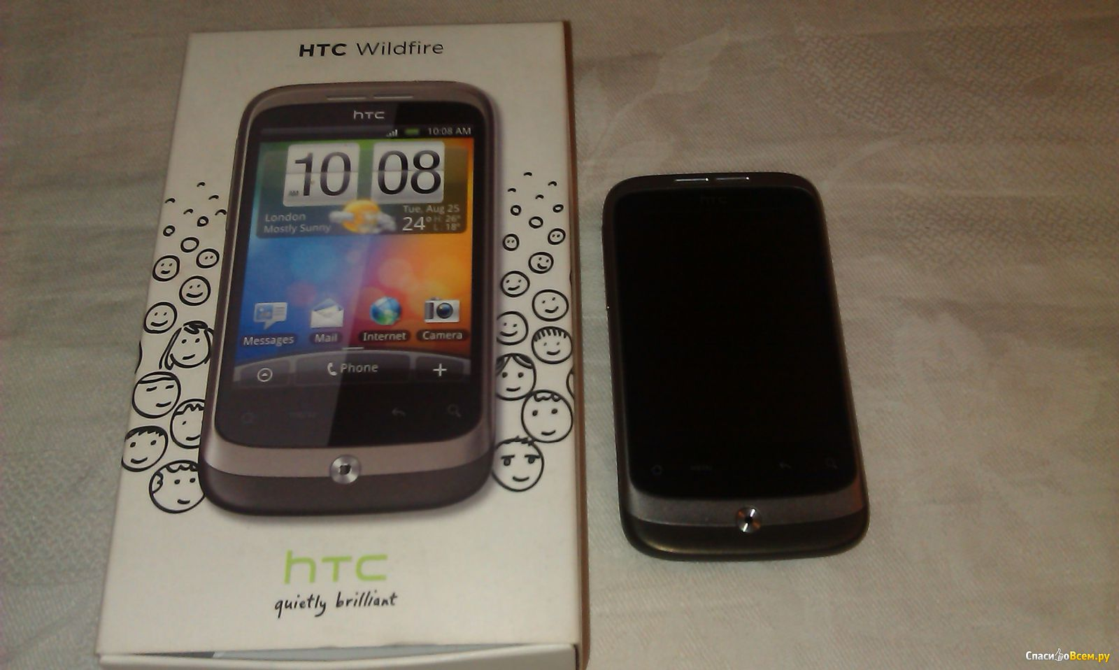 How to transfer photos from htc wildfire to computer