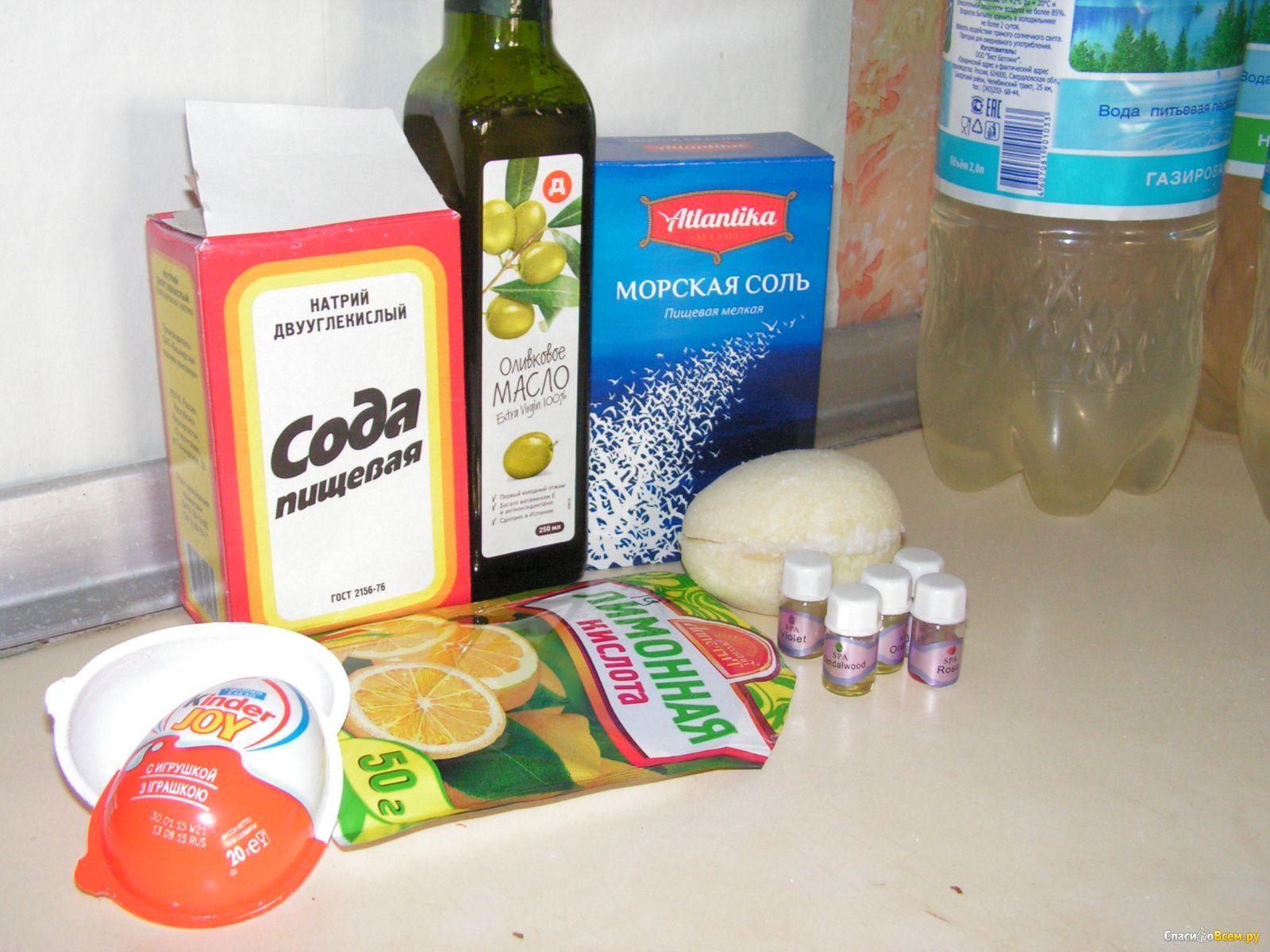 Бомбочки для ванны для детей рецепты с фото простые