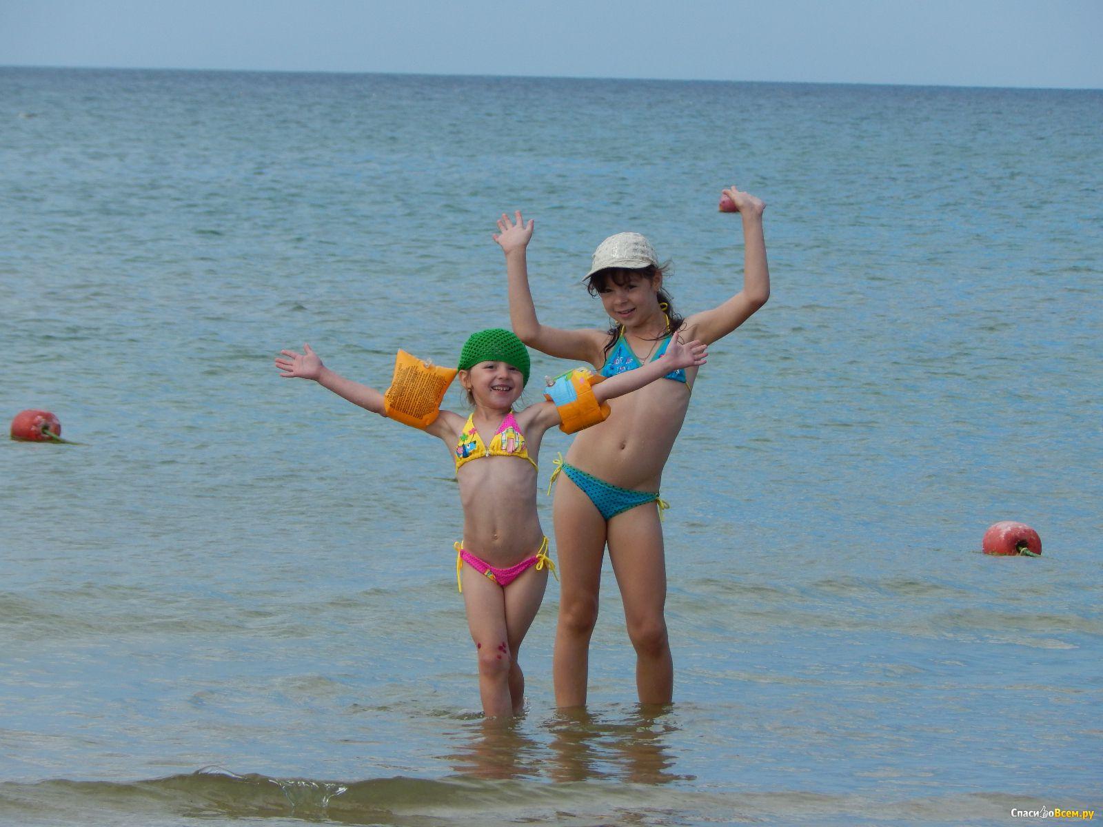 Дети на море в анапе фото