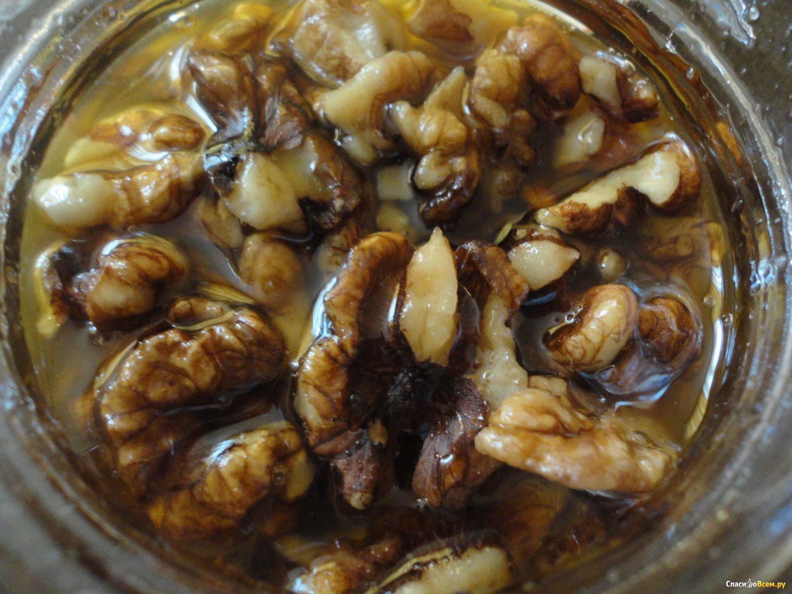 Мед и грецкие орехи для мужчин рецепт пошагово в
