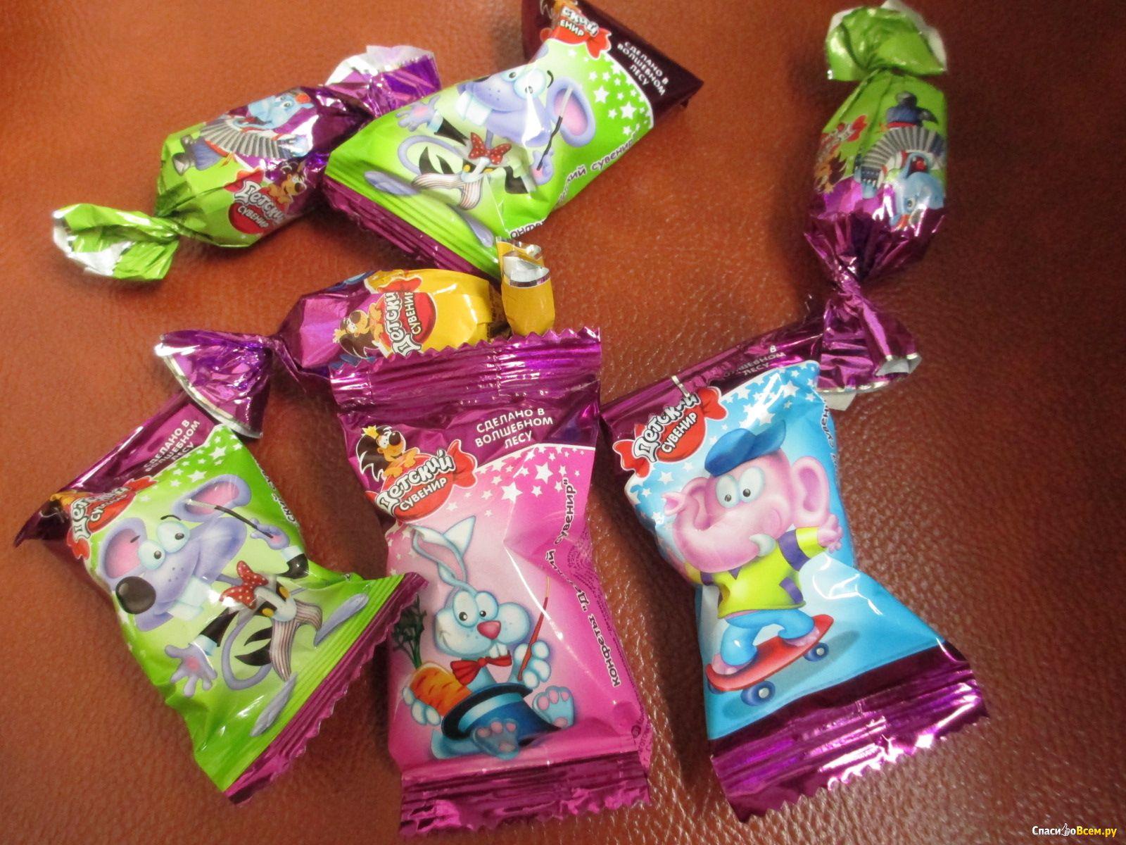 Конфеты детские