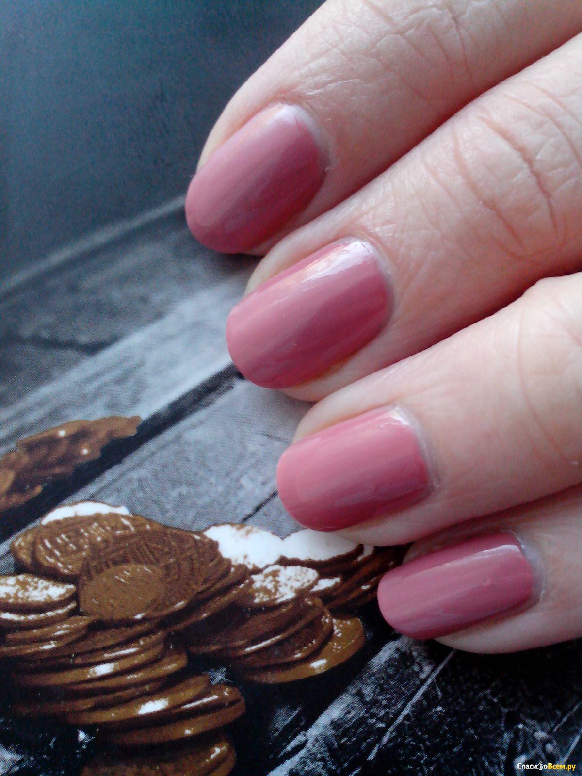 Ногти пыльная роза фото