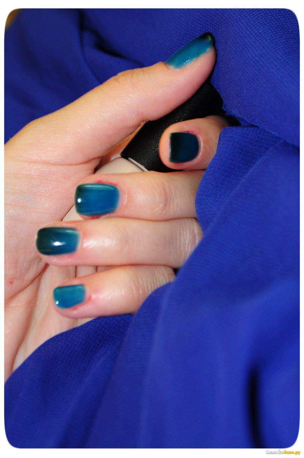 Дизайн ногтей с термо гель лаком фото