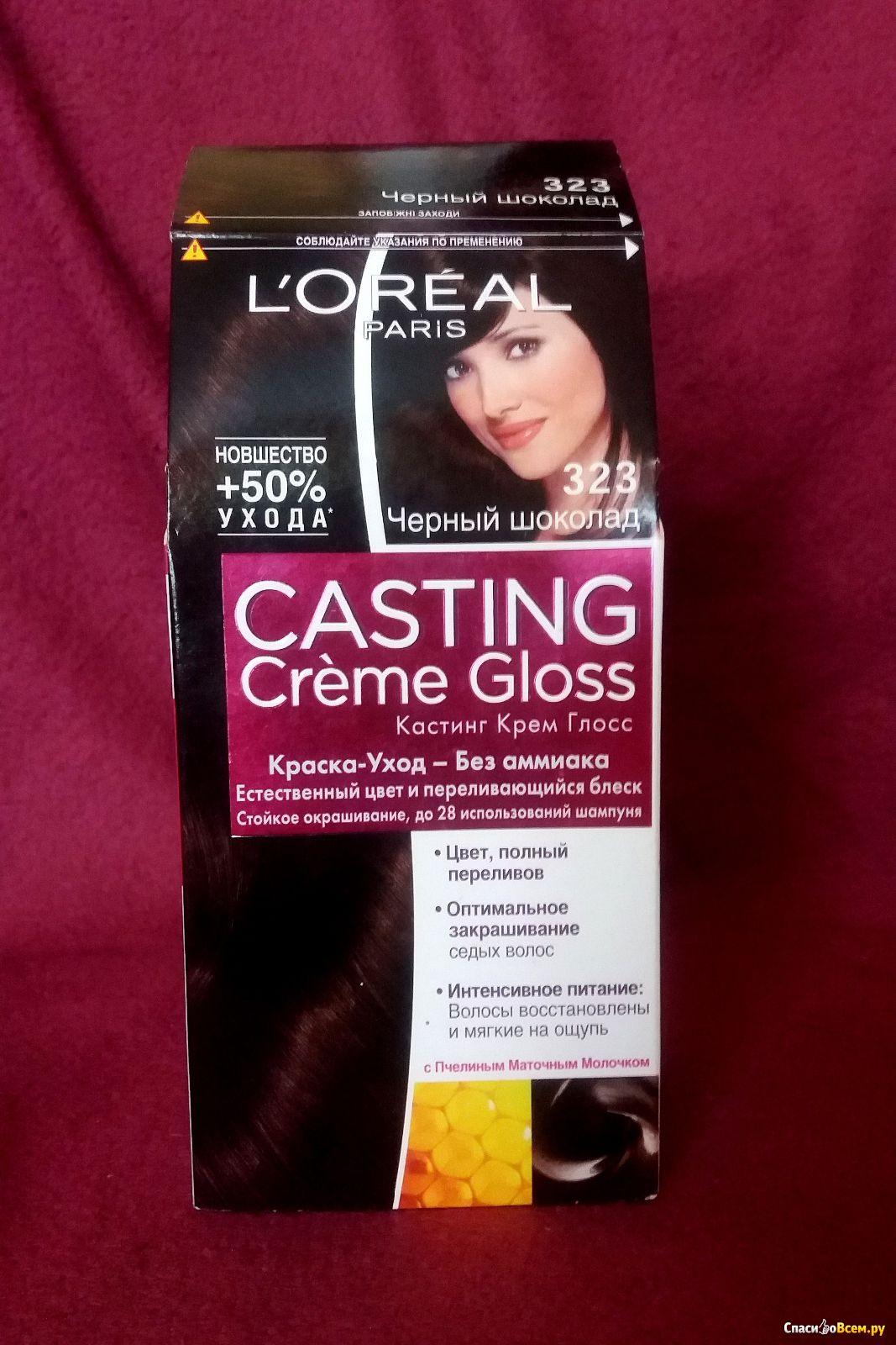 Кастинг краска для волос черный шоколад